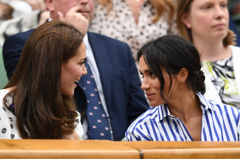 Księżna Kate i Meghan Markle /Clive Mason /Getty Images