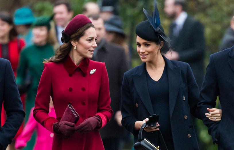 Księżna Kate i Meghan Markle /Samir Hussein /Getty Images