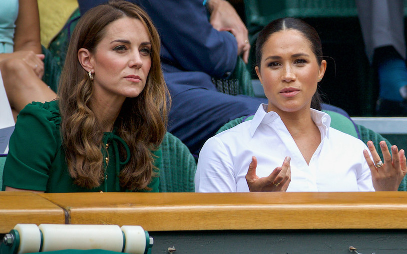 księżna Kate i Meghan Markle /David Gray /Getty Images