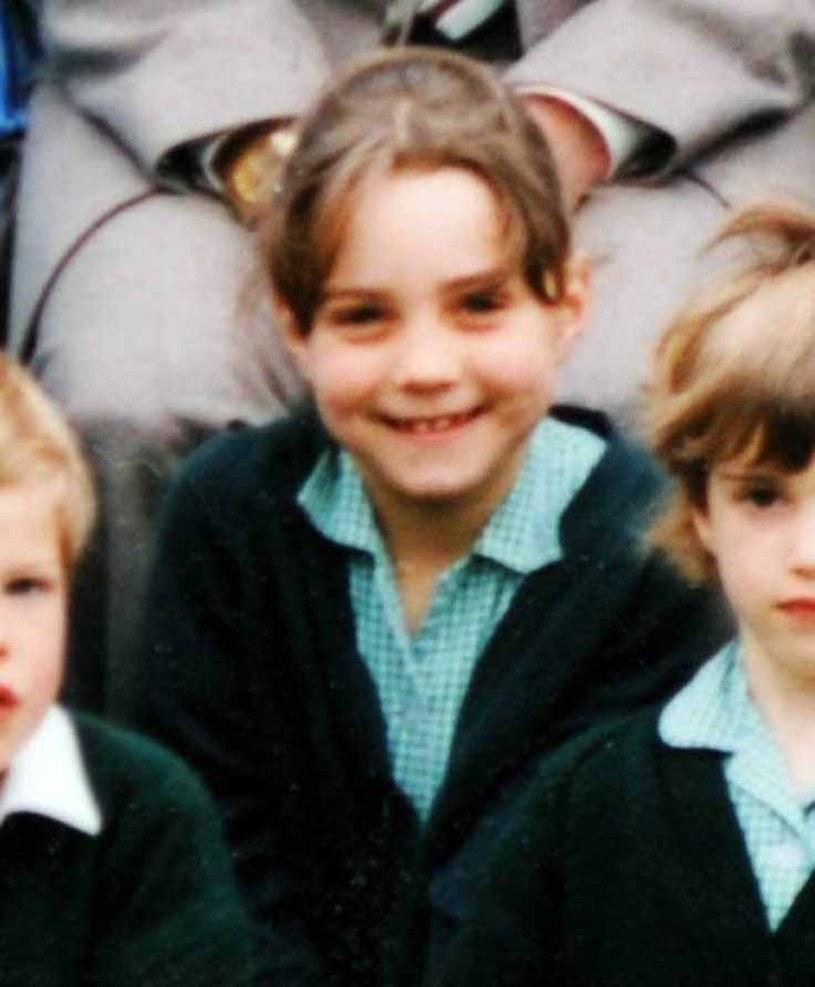 Księżna Kate jako dziecko /Splash News/EAST NEWS /East News