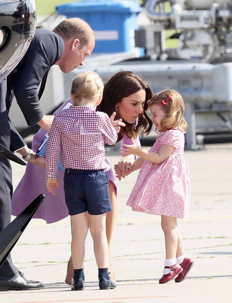 Księżna Kate jest mamą George'a, Charlotte i Louisa /Getty Images