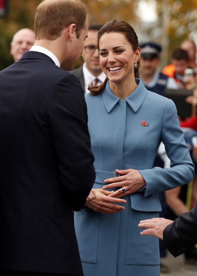Księżna Kate jest obecnie w trzeciej ciąży /Pool /Getty Images