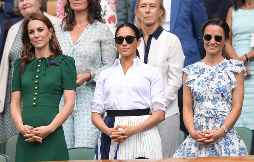 Księżna Kate, Meghan Markle i Pippa Middleton /Karwai Tang /Getty Images
