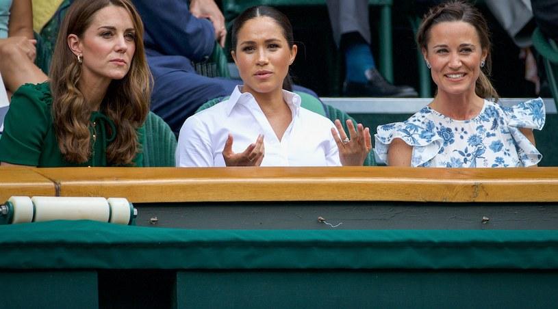 Księżna Kate, Meghan Markle i Pippa wybrały się razem na Wimbledon /David Gray /Getty Images