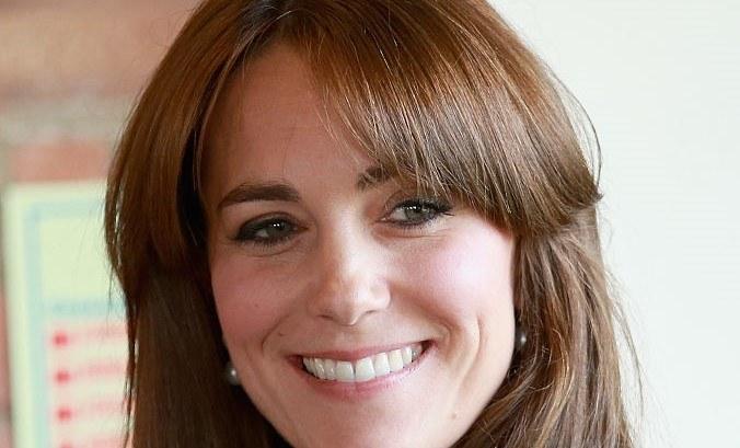 Księżna Kate miała grzywkę w 2015 roku /Getty Images