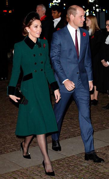 Księżna Kate Middleton i William, książę Cambridge