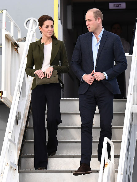 Księżna Kate Middleton oraz William, książę Cambridge na Cyprze