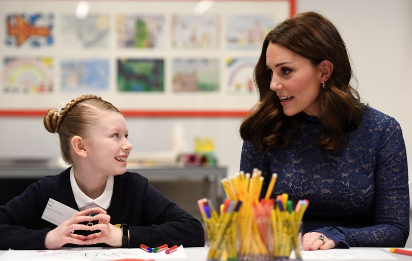 Księżna Kate na otwarciu nowej placówki Place2Be w dzielnicy Londynu - Clerkenwell /East News