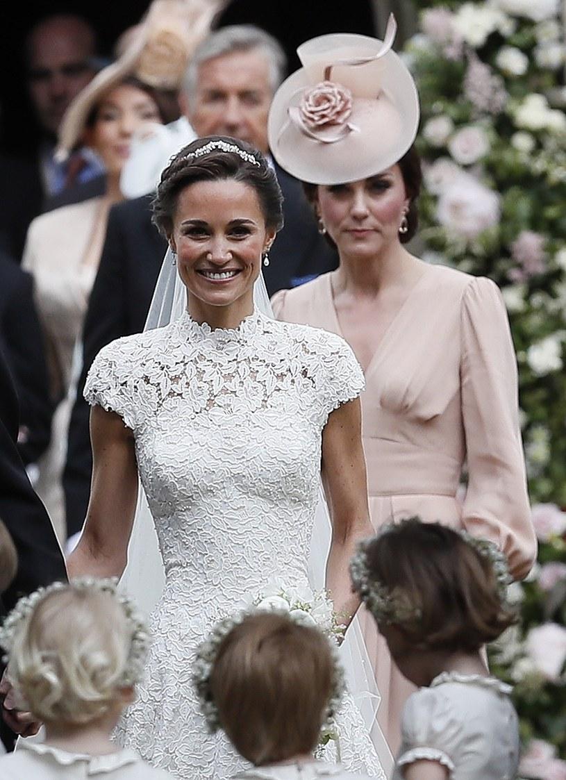 Księżna Kate na ślubie Pippy /Associated Press/East News