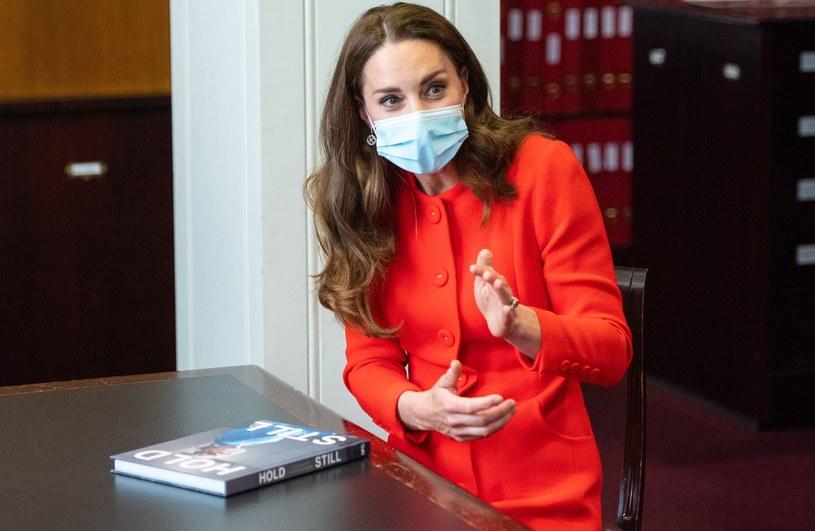 Księżna Kate odwiedziła Archiwum National Portrait Gallery /Getty Images