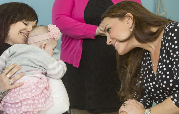 Księżna Kate odwiedziła klinikę dziecięcą /WPA Pool /Getty Images