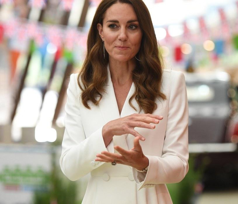 Księżna Kate opowiedziała o swoich dzieciach w jednym z wywiadów. Zaskoczyła swoimi słowami /WPA Pool /Getty Images