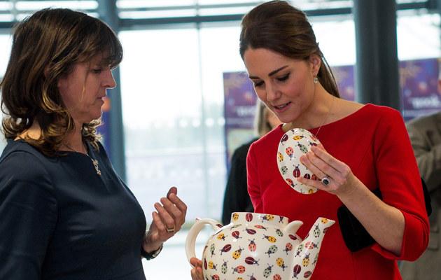 Księżna Kate podczas oficjalnej wizyty /WPA Pool /Getty Images