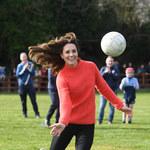 Księżna Kate szaleje na boisku!