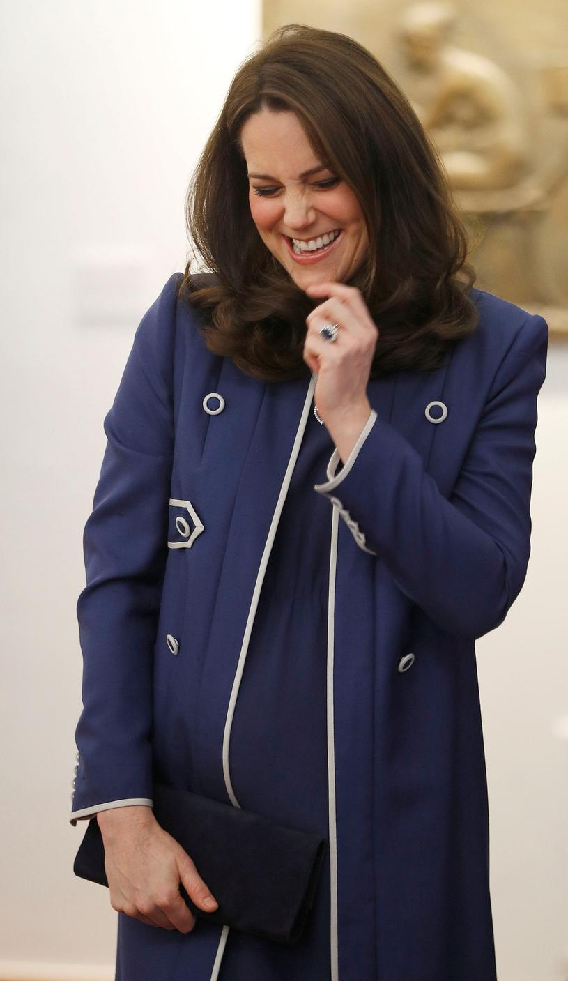 Księżna Kate uśmieje się, gdy zobaczy te typy? /PETER NICHOLLS /East News