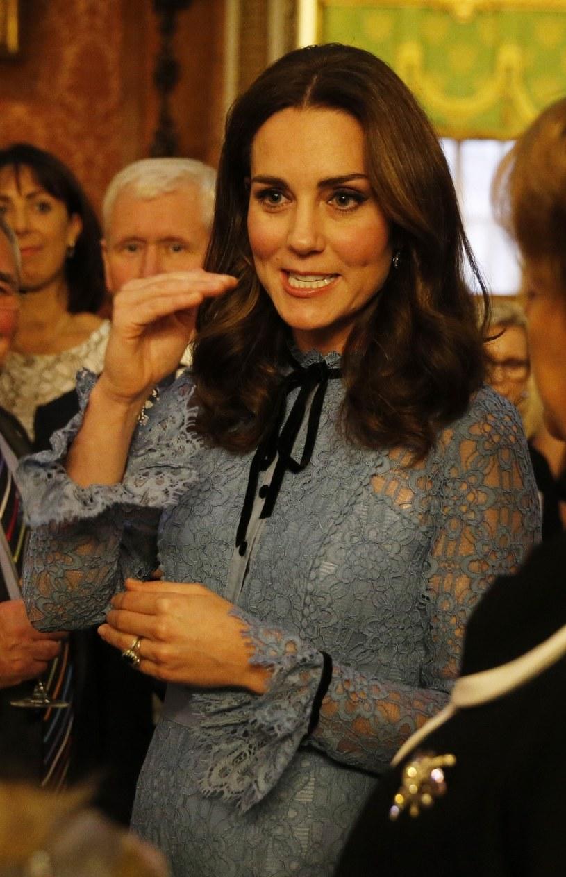 Księżna Kate w ciąży /Heathcliff O'Malley/Daily Telegr /East News