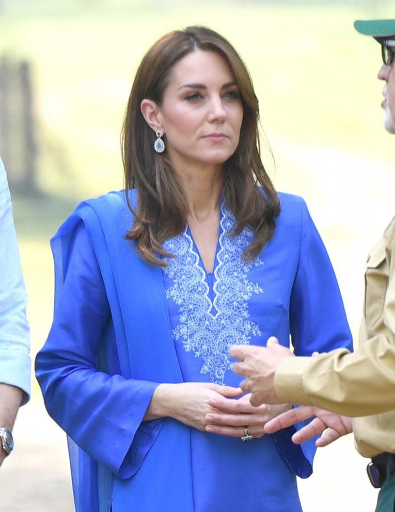 Księżna Kate w Pakistanie /Splash News /East News