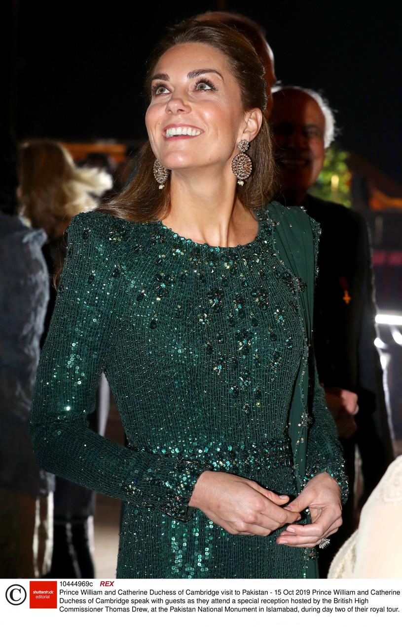 Księżna Kate w Pakistanie /Rex Features /East News