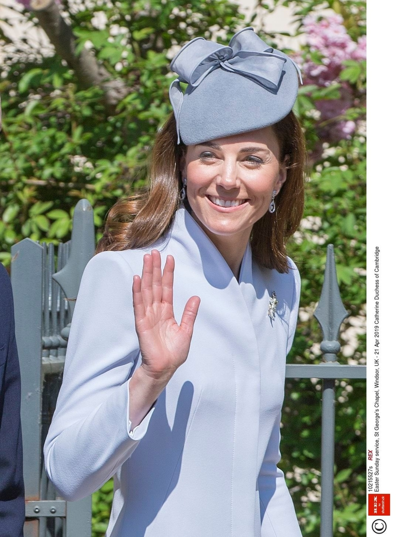 Księżna Kate w ślubnych kolczykach /REX/Shutterstock /East News