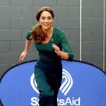 Księżna Kate w sportowym wydaniu! Rzadki widok