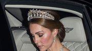 Księżna Kate w tiarze Diany