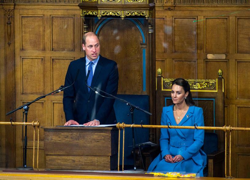 Księżna Kate wyglądała olśniewająco, a książę William zachwycił zebranych przemową /WPA Pool /Getty Images