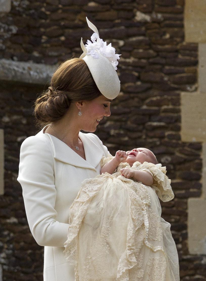 Księżna Kate z córką /Getty Images