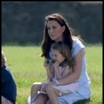 Księżna Kate z dziećmi w klubie polo