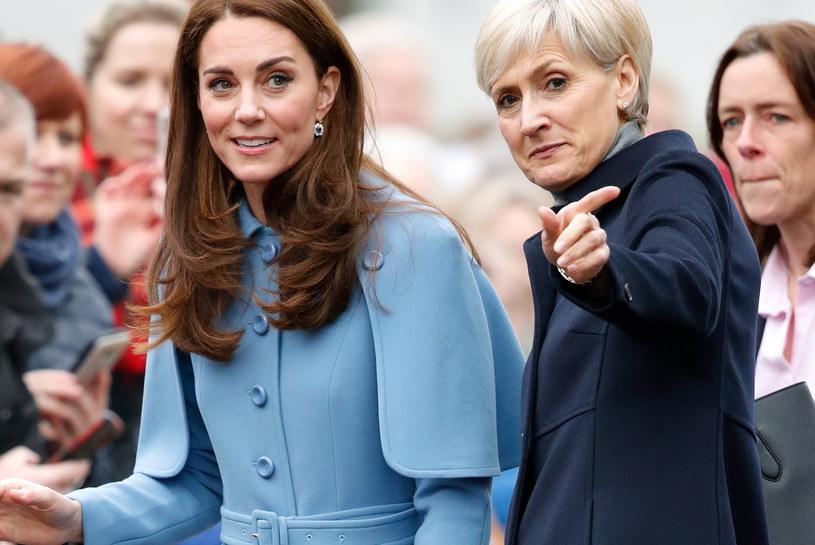 Księżna Kate z osobistą asystentką, Catherine Quinn /Max Mumby/Indigo /Getty Images