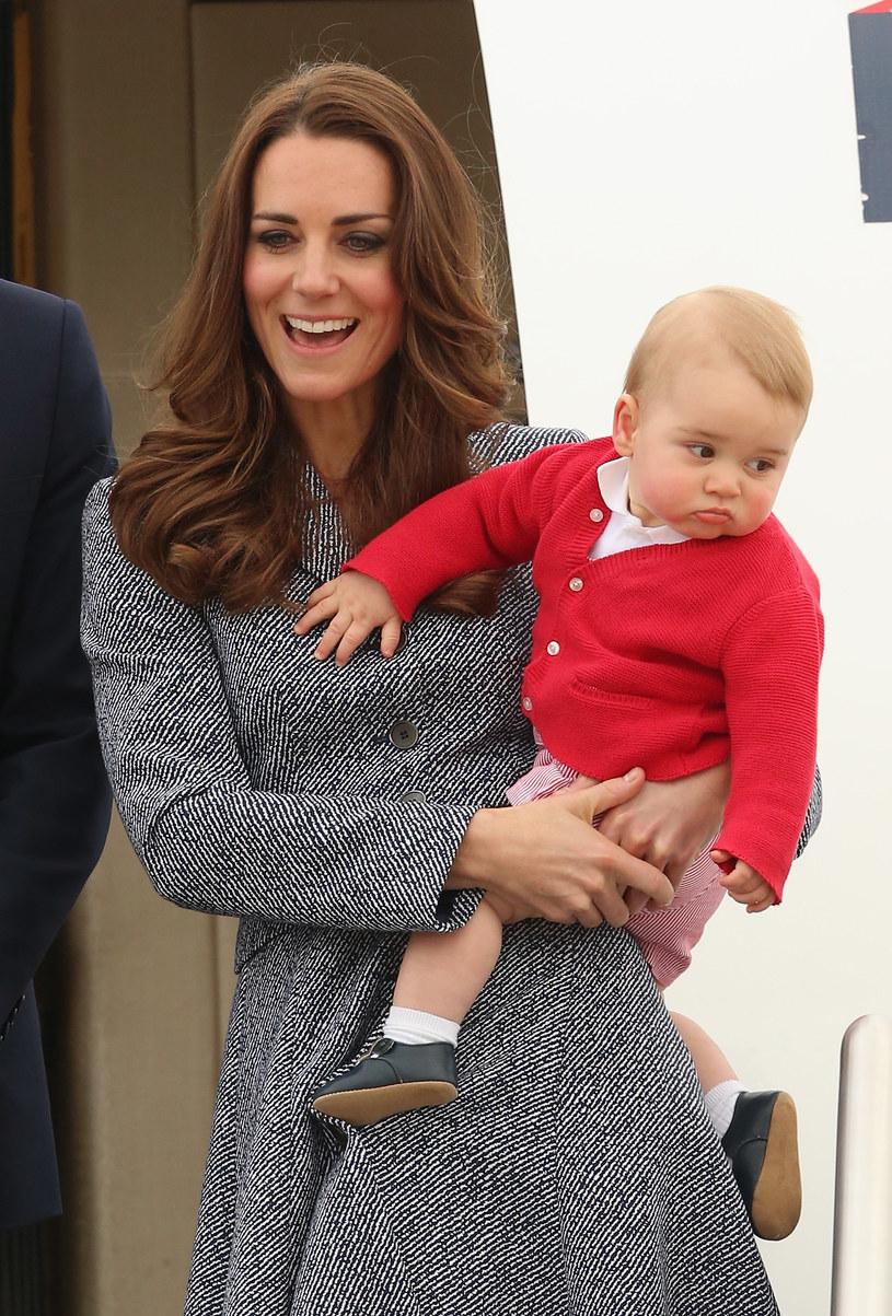 Księżna Kate z synkiem /Chris Jackson /Getty Images
