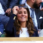 Księżna Kate zachwyca na trybunach na Wimbledonie. Spójrzcie na jej strój!