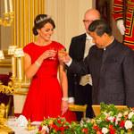 Księżna Kate zachwyciła na bankiecie!