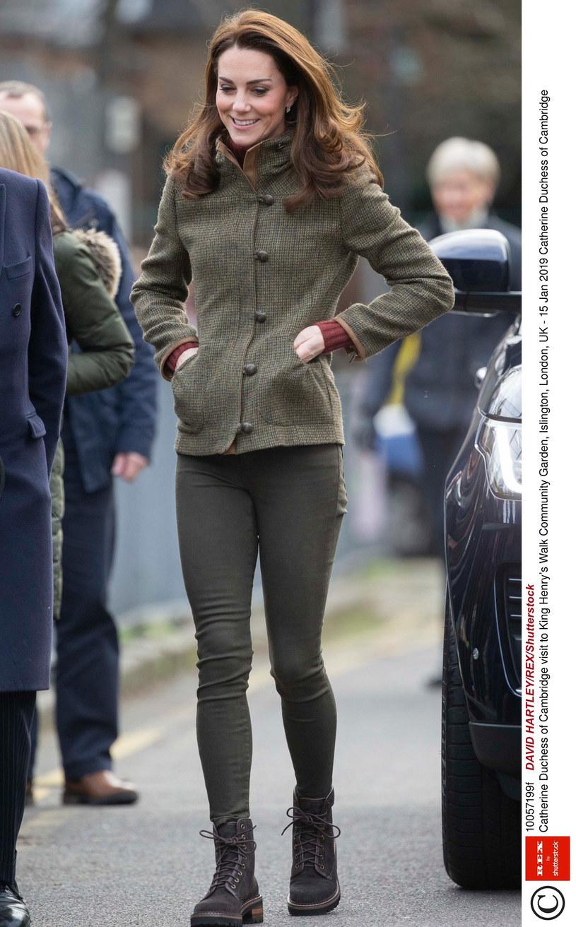 Księżna Kate /DAVID HARTLEY / Rex Features /East News