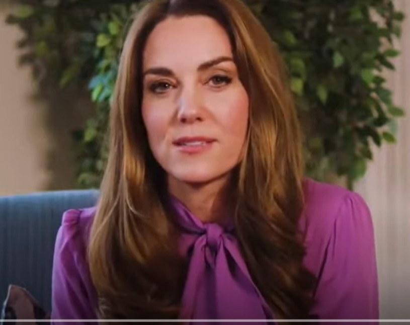 Księżna Kate /YouTube /materiał zewnętrzny
