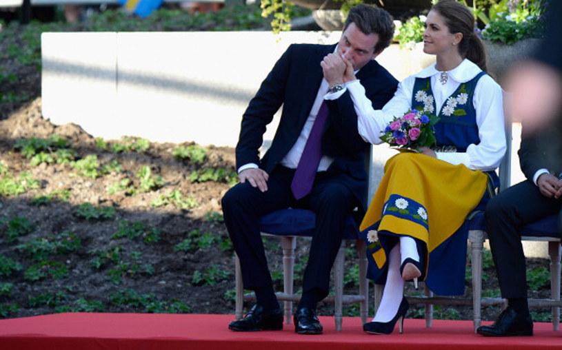 Księżna Madeleine z mężem Christopherem oczekują narodzin trzeciego dziecka /Pascal Le Segretain /Getty Images