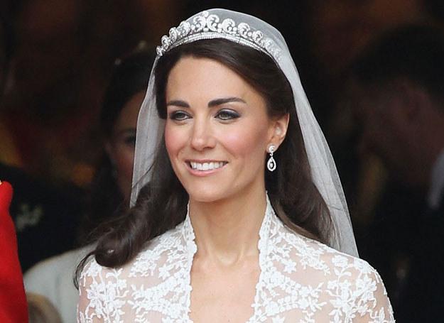 Księżna makijaż ślubny zrobiła sama /Getty Images/Flash Press Media
