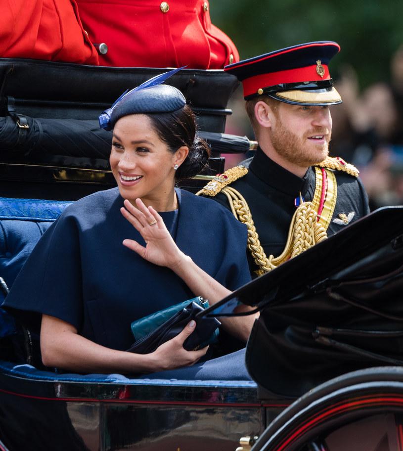 Księżna Meghan i Harry /Samir Hussein /Getty Images
