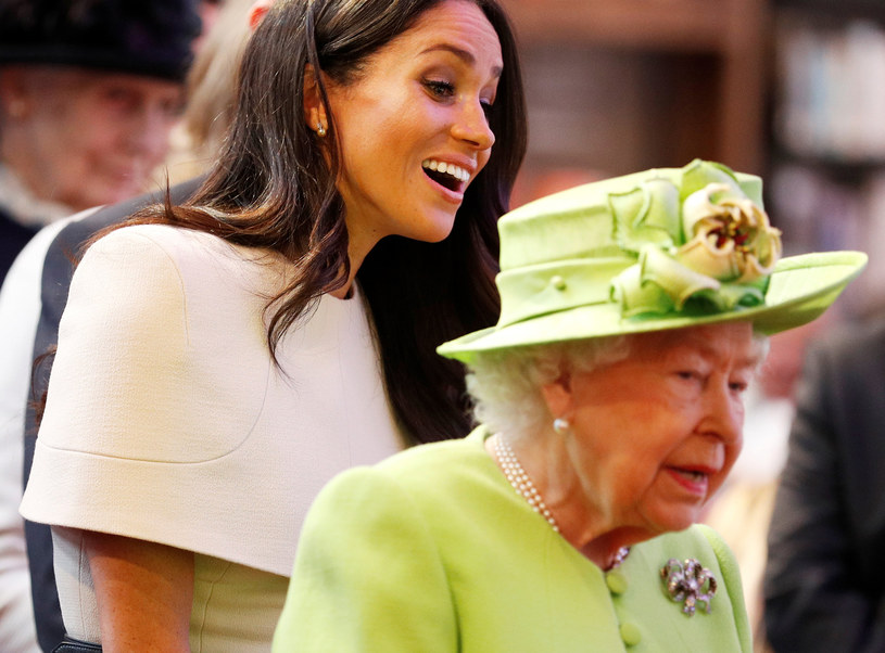 Księżna Meghan i królowa Elżbieta II /WPA Pool /Getty Images