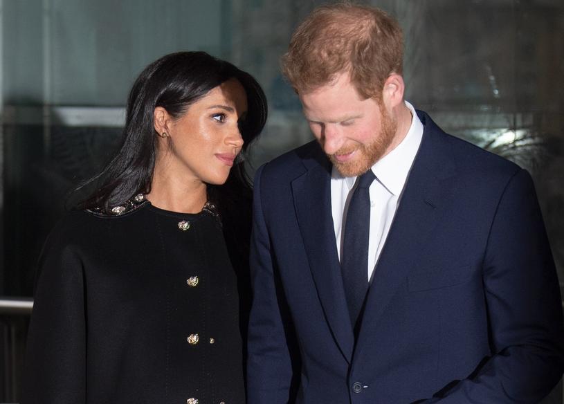 Księżna Meghan i książę Harry lada dzień zostaną rodzicami /Splash News /East News