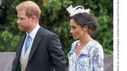 Księżna Meghan i książę Harry na ślubie kuzynki. Było o krok od wpadki!