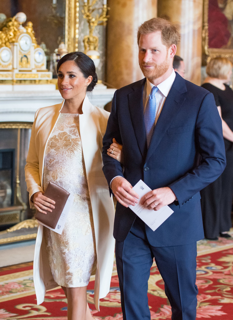 Księżna Meghan i książę Harry. Wielka Brytania /Getty Images