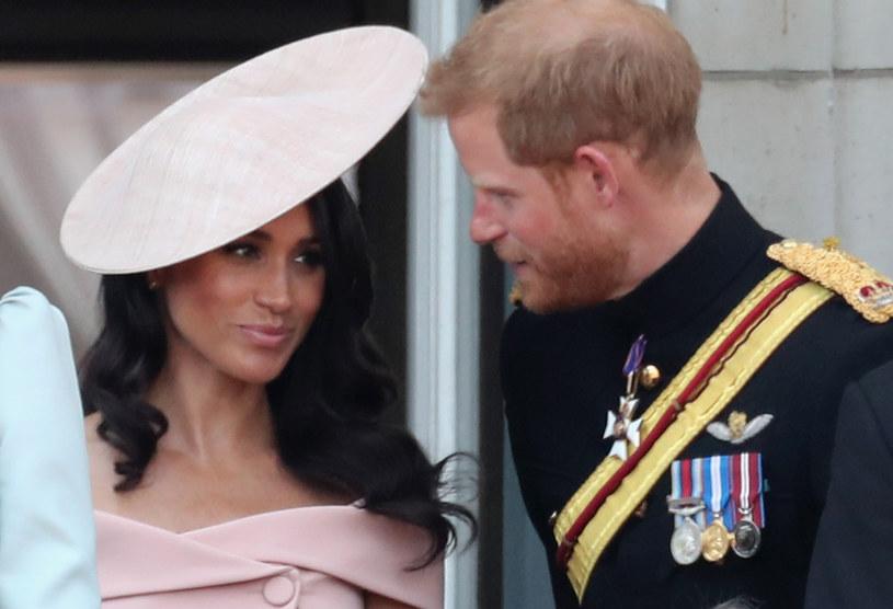 Księżna Meghan i książę Harry /Chris Jackson /Getty Images
