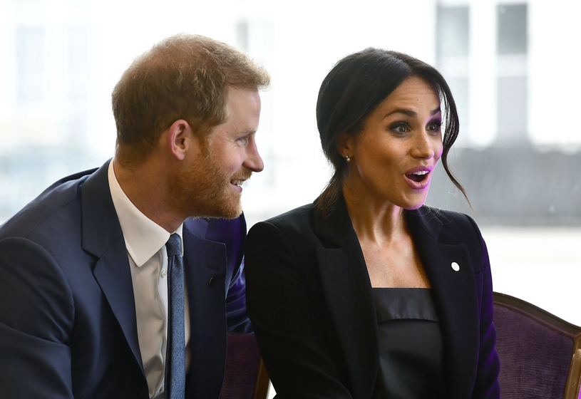 Księżna Meghan i książę Harry /Associated Press /East News