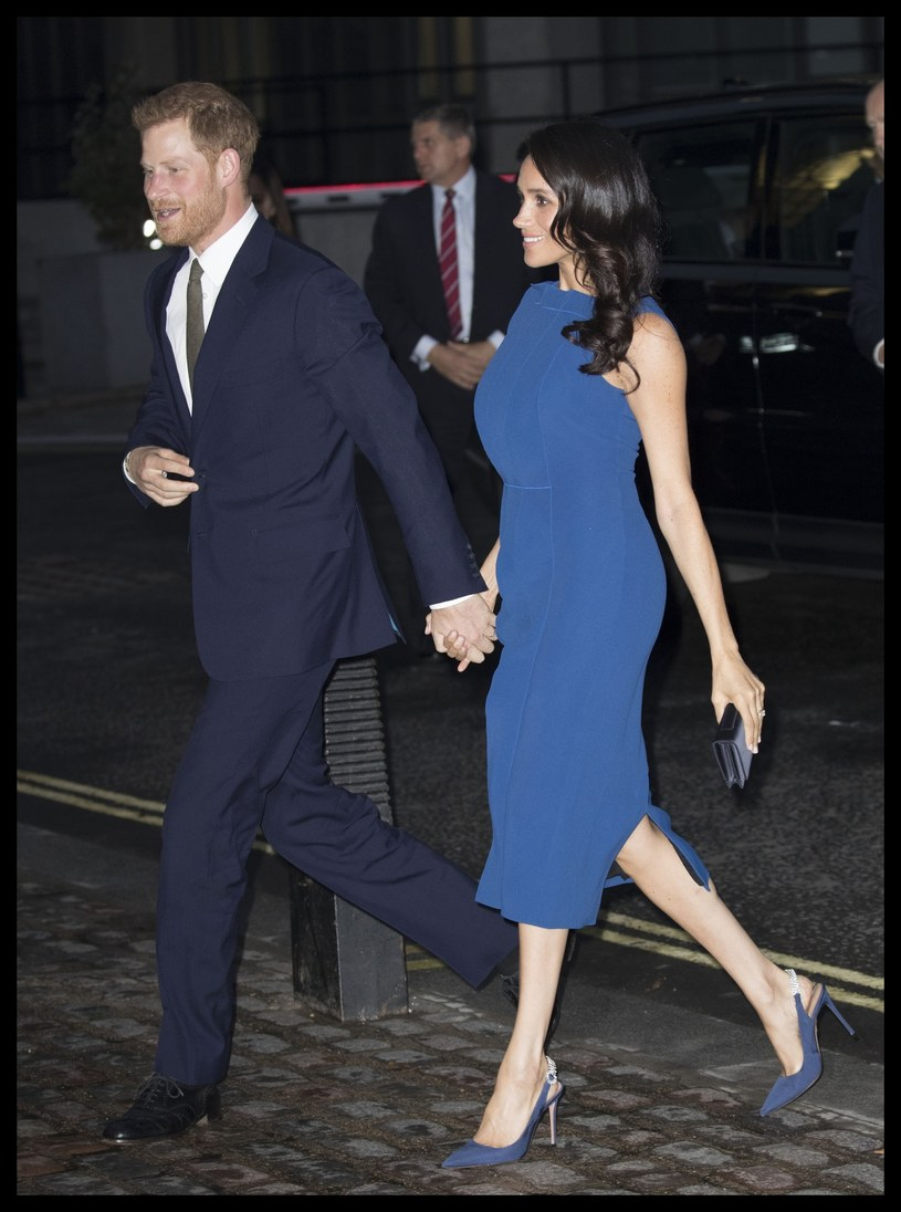 Księżna Meghan i książę Harry /Stephen Lock / i-Images /East News