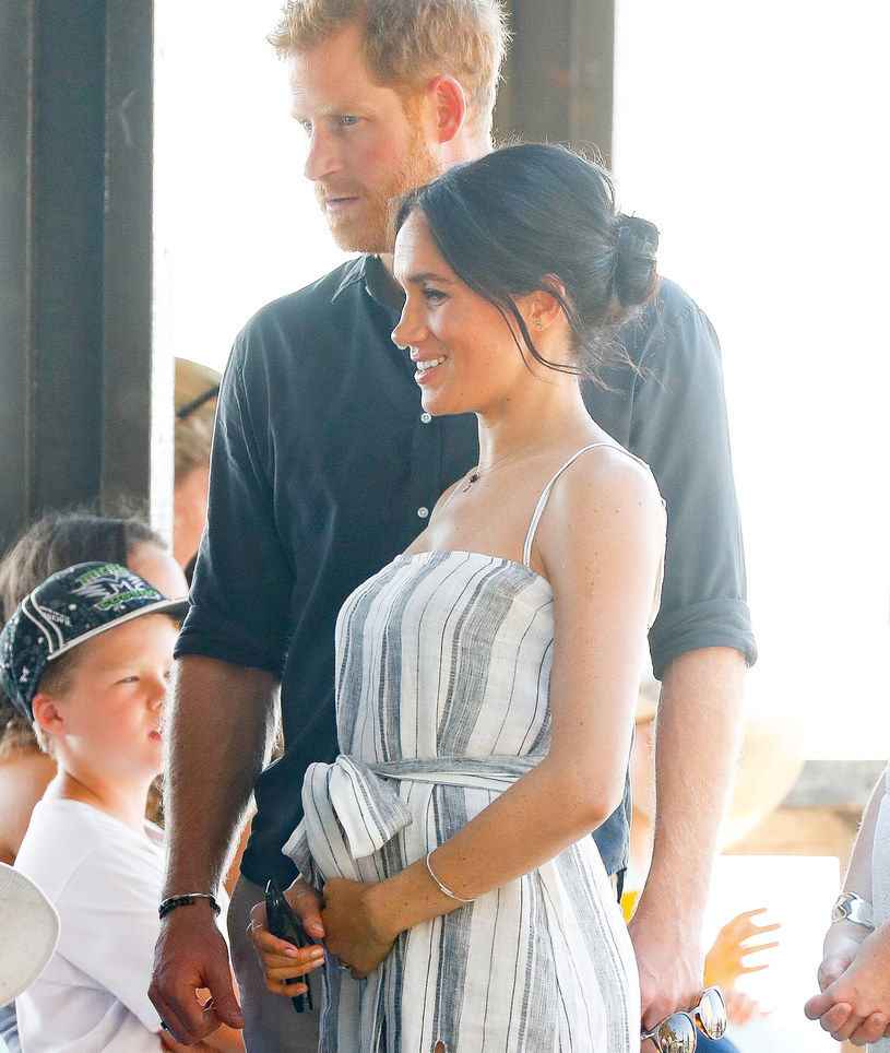 księżna Meghan i książę Harry /Chris Jackson /Getty Images