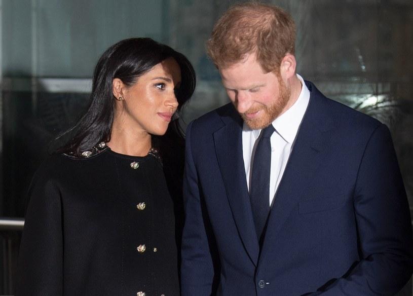 Księżna Meghan i książę Harry /Splash News /East News