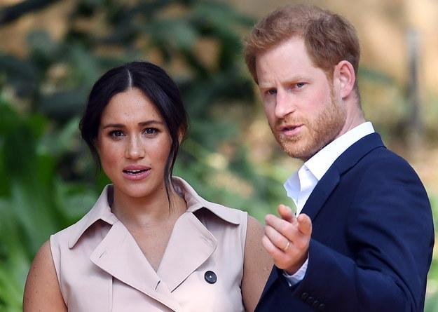 Księżna Meghan i książę Harry /FACUNDO ARRIZABALAGA /PAP/EPA