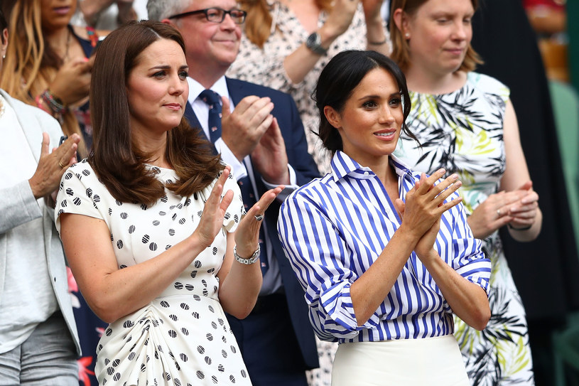 Księżna Meghan, księżna Kate /Michael Steele /Getty Images