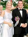 Księżna Mette-Marit i książe Haakon Magnus /INTERIA.PL