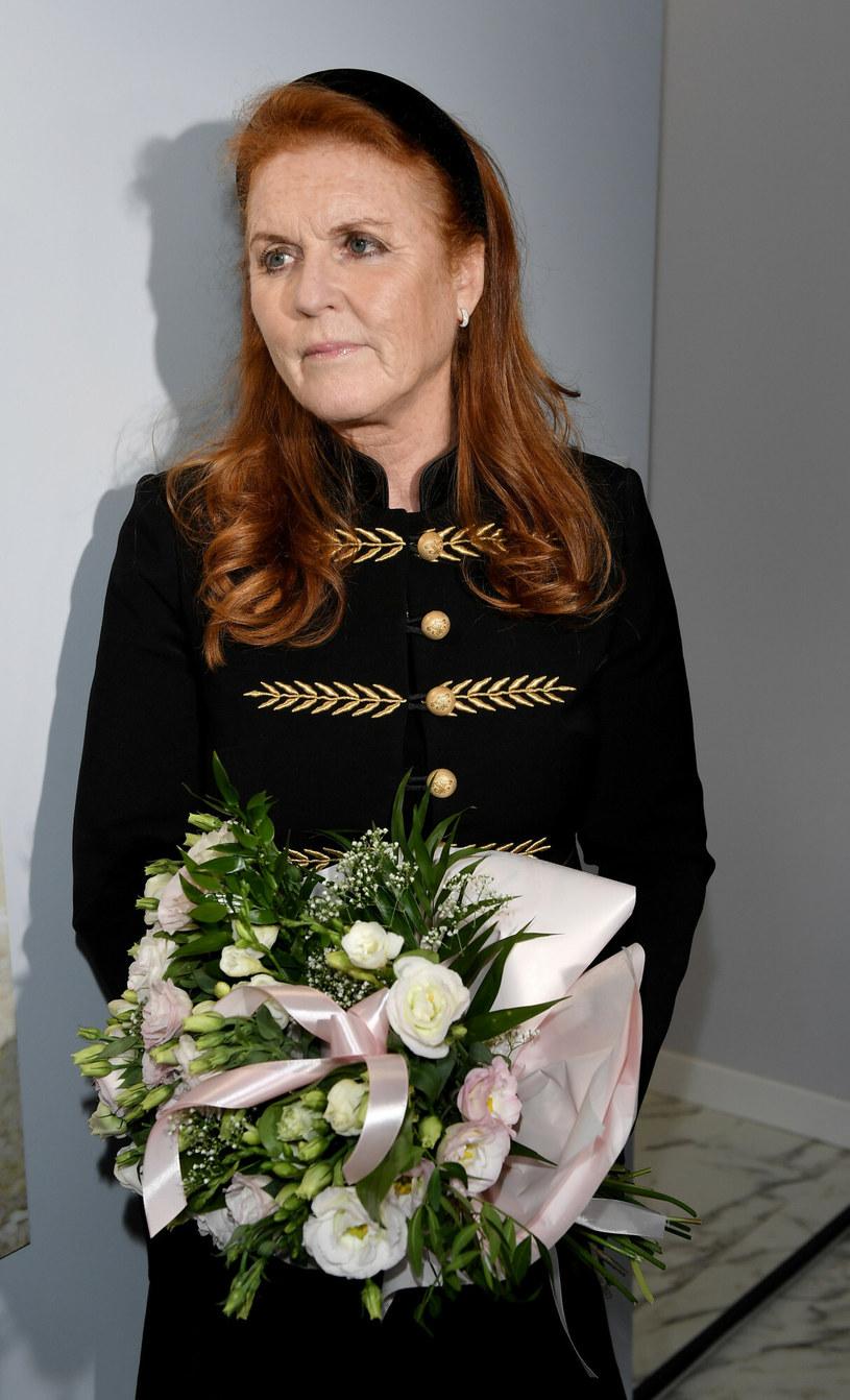 Księżna Sarah Ferguson udzieliła wywiadu Polsat News, który stał się światowym hitem! /Łukasz Kalinowski /East News